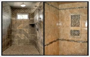 zuhanykabin burkolás