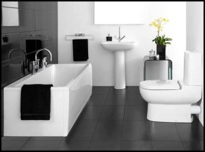 black-white-bathroom-decoration-design-ideas